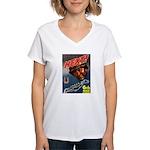 6th War Loan Women's V-Neck T-Shirt