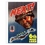 6th War Loan Small Poster