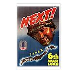 6th War Loan Postcards (Package of 8)