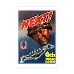 6th War Loan Mini Poster Print