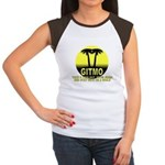 Gitmo Palms Women's Cap Sleeve T-Shirt