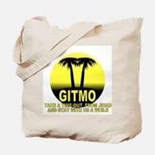 Gitmo Palms Tote Bag
