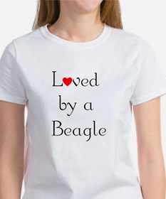 Loved by a Beagle Women's T-Shirt