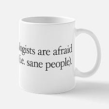 Scientologists Fear SPs Mug