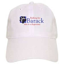 Barking for Barack Baseball Cap