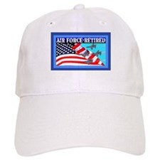 Baseball Cap-AIR FORCE-RETIRED-Jets
