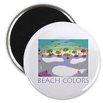 Beach Colors Seashore Magnet