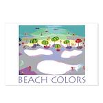 Beach Colors Seashore Postcards (Package of 8)