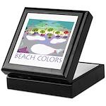 Beach Colors Seashore Keepsake Box