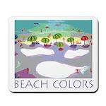 Beach Colors Seashore Mousepad