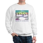 Beach Colors Seashore Sweatshirt