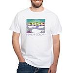 Beach Colors Seashore White T-Shirt