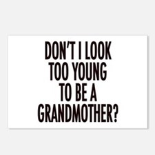 Too young to be a grandmother Postcards (Package o