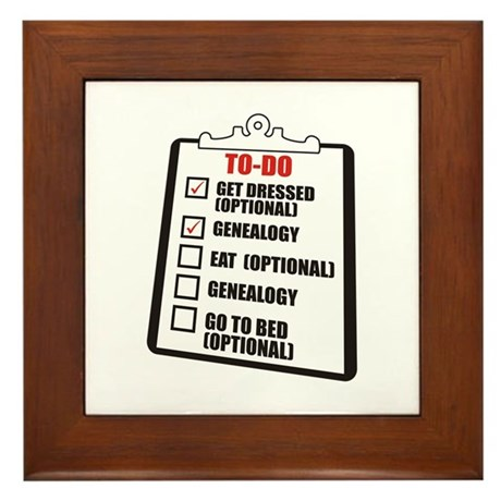 To-Do List Framed Tile