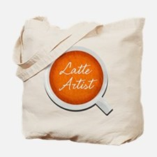 Latte Artist Barista Tote Bag
