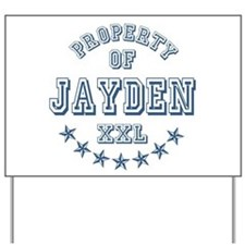 Property of Jayden Personalized Yard Sign