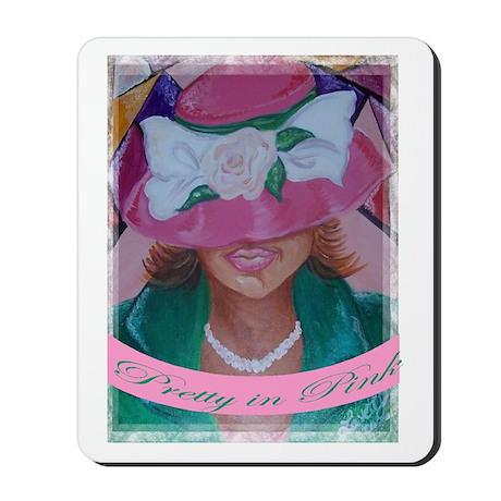 Pretty in Pink/AKA- Mousepad