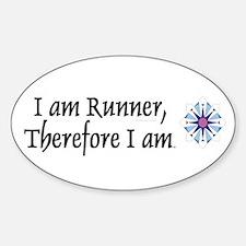 I Am Runner Decal