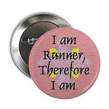 """I Am Runner 2.25"""" Button"""