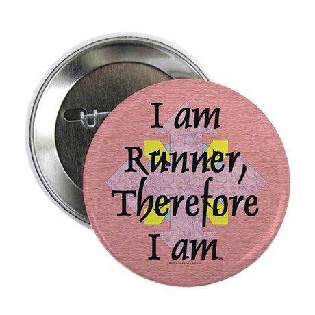 "I Am Runner 2.25"" Button"