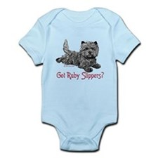 Cairn Terrier Ruby Slippers Infant Bodysuit