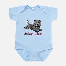 Cairn Terrier Ruby Slippers Infant Bodysuit