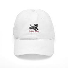 Cairn Terrier Ruby Slippers Baseball Cap