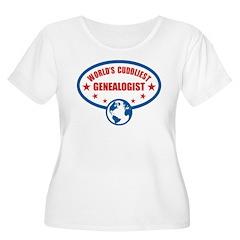 Worlds Cuddliest Genealogist T-Shirt