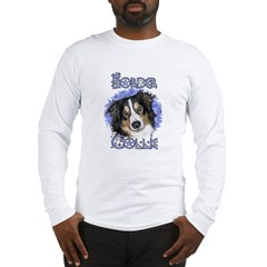 Blue Sky BORDER COLLIE Long Sleeve T-Shirt