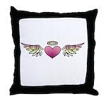 Heart Tattoo Throw Pillow