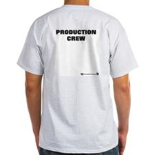 Production Crew Ash Grey T-Shirt