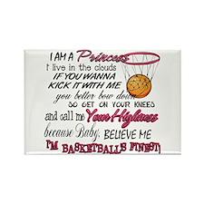 Basketball's Finest Rectangle Magnet