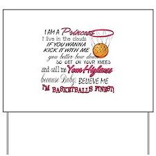 Basketball's Finest Yard Sign