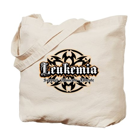 Leukemia Tribal 2 Tote Bag