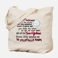 Volleyball's Finest Tote Bag
