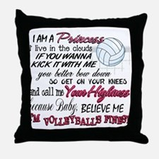 Volleyball's Finest Throw Pillow