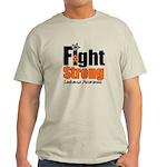 Fight Strong (Leukemia) Light T-Shirt