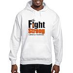 Fight Strong (Leukemia) Hooded Sweatshirt