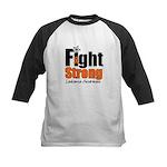 Fight Strong (Leukemia) Kids Baseball Jersey
