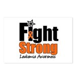 Fight Strong (Leukemia) Postcards (Package of 8)
