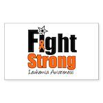 Fight Strong (Leukemia) Rectangle Sticker 10 pk)