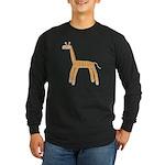 Giraffe Long Sleeve Dark T-Shirt