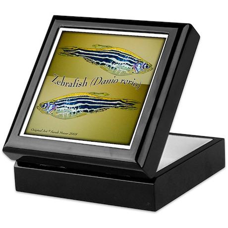 Zebrafish Keepsake Box