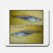 Zebrafish Mousepad