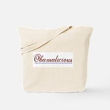 Obamalicious (Obama Mama) Tote Bag
