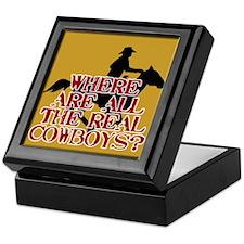 Real Cowboys? Keepsake Box