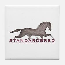 Standardbred Horse Tile Coaster