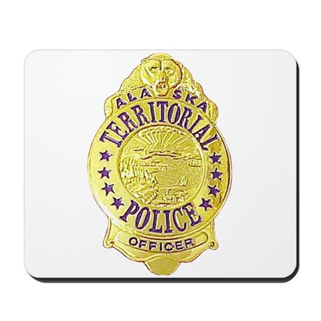 Alaska Territorial Police Mousepad
