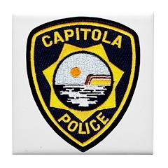 Capitola Police Tile Coaster