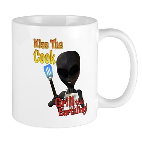 Kiss the Cook Grill the Earth Mug